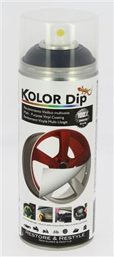 Kolor Dip Metallic Zwart Spray 400 ml